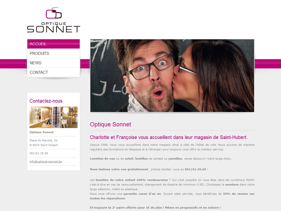 Optique Sonnet – Opticiens à Saint-Hubert 6fe6d1446e17